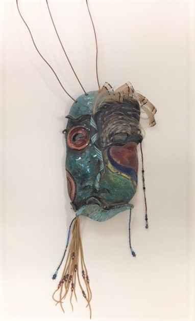 Unknown (Copper stran... by  Lillian Pitt - Masterpiece Online