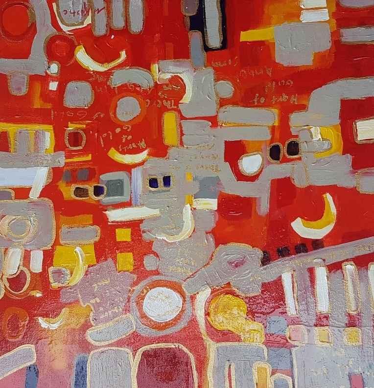 Border Series 35 by  Mila Kostic - Masterpiece Online