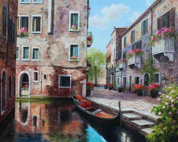 Venetian Serenity by  Soon Ju Choi  - Masterpiece Online
