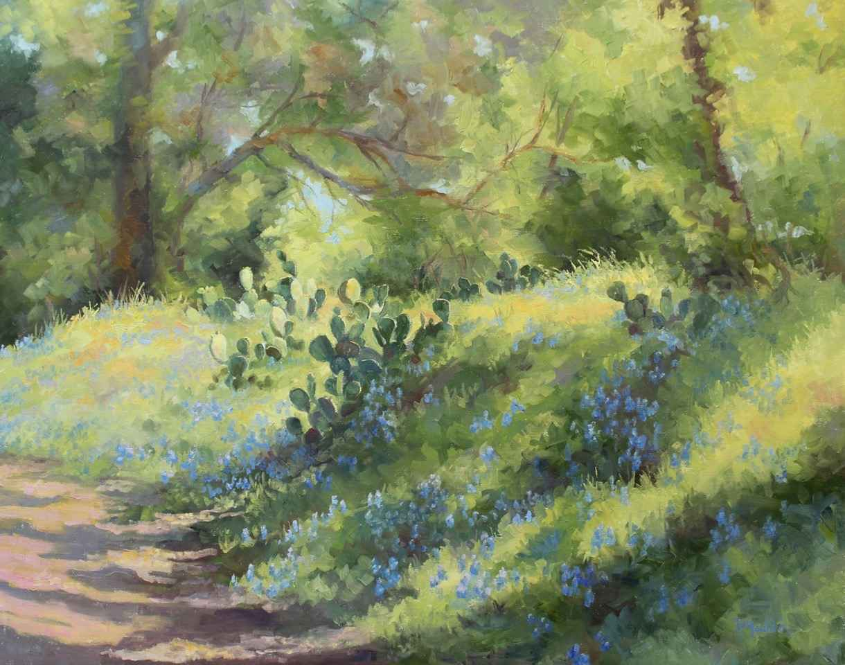 Blue Wave by  Barbara Mauldin - Masterpiece Online