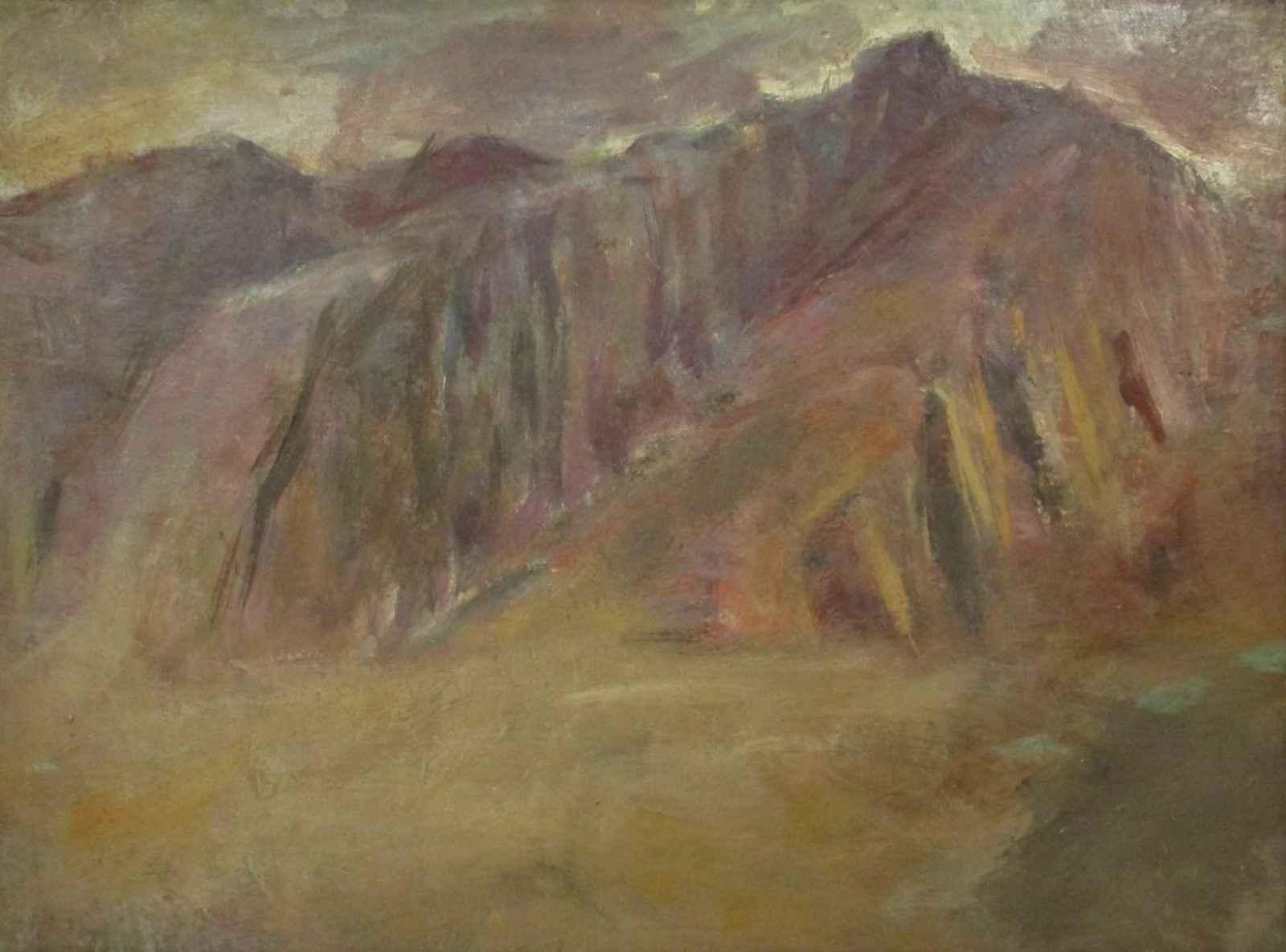 Unknown (mountains) by  Arthur Runquist - Masterpiece Online