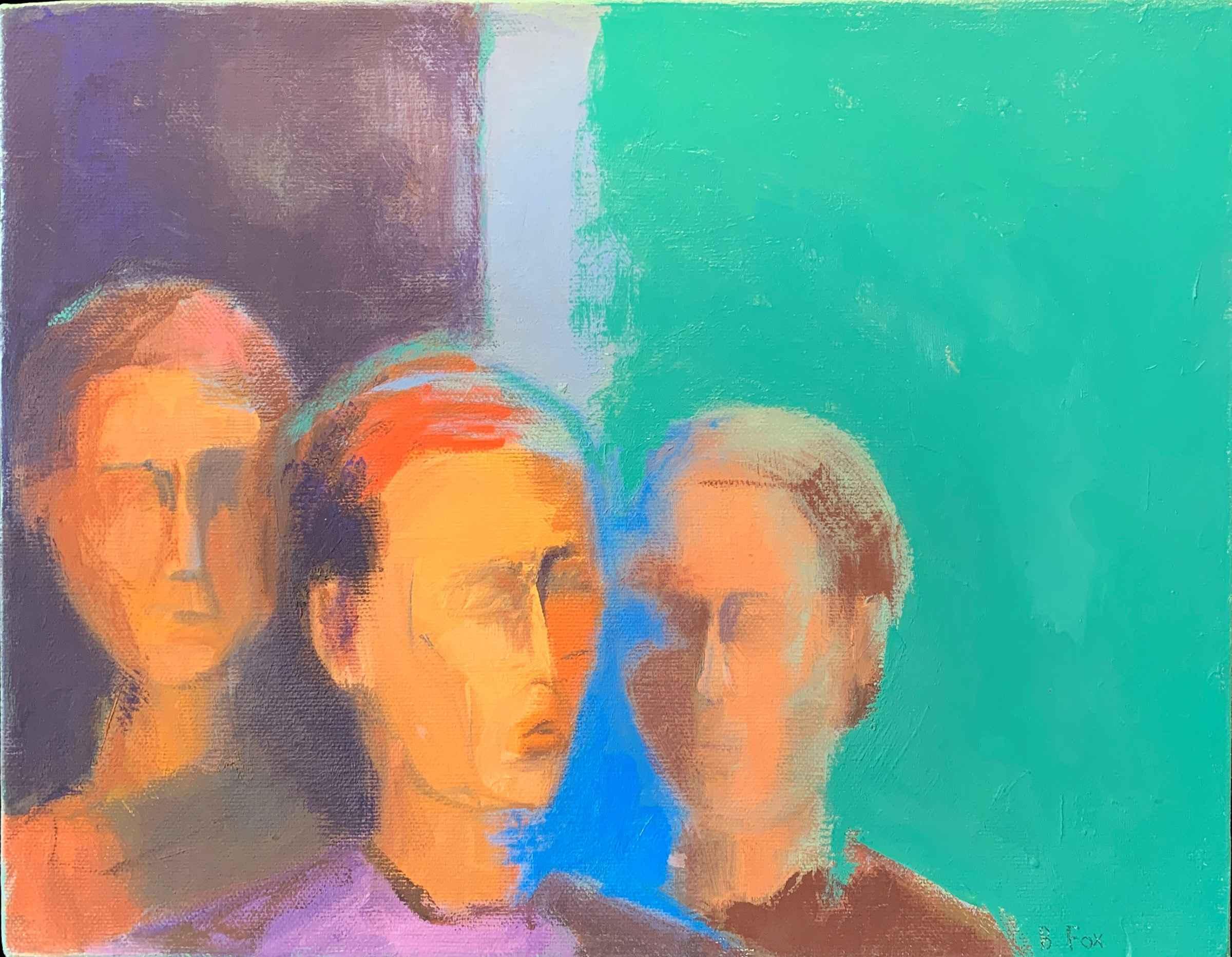 Three Faces by  Brenda Fox - Masterpiece Online