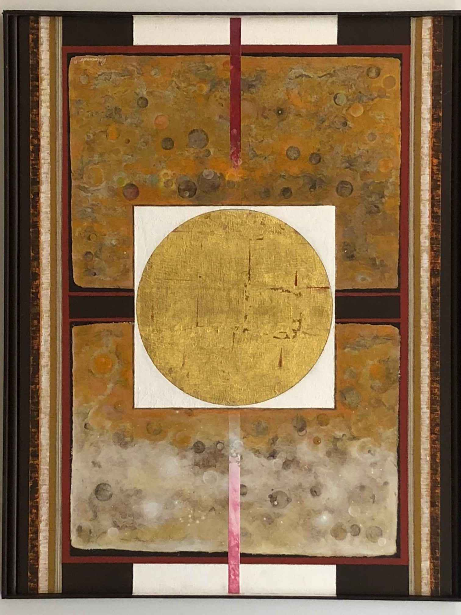 Gold Sun by  Carlos de Mesquita Raimundo - Masterpiece Online
