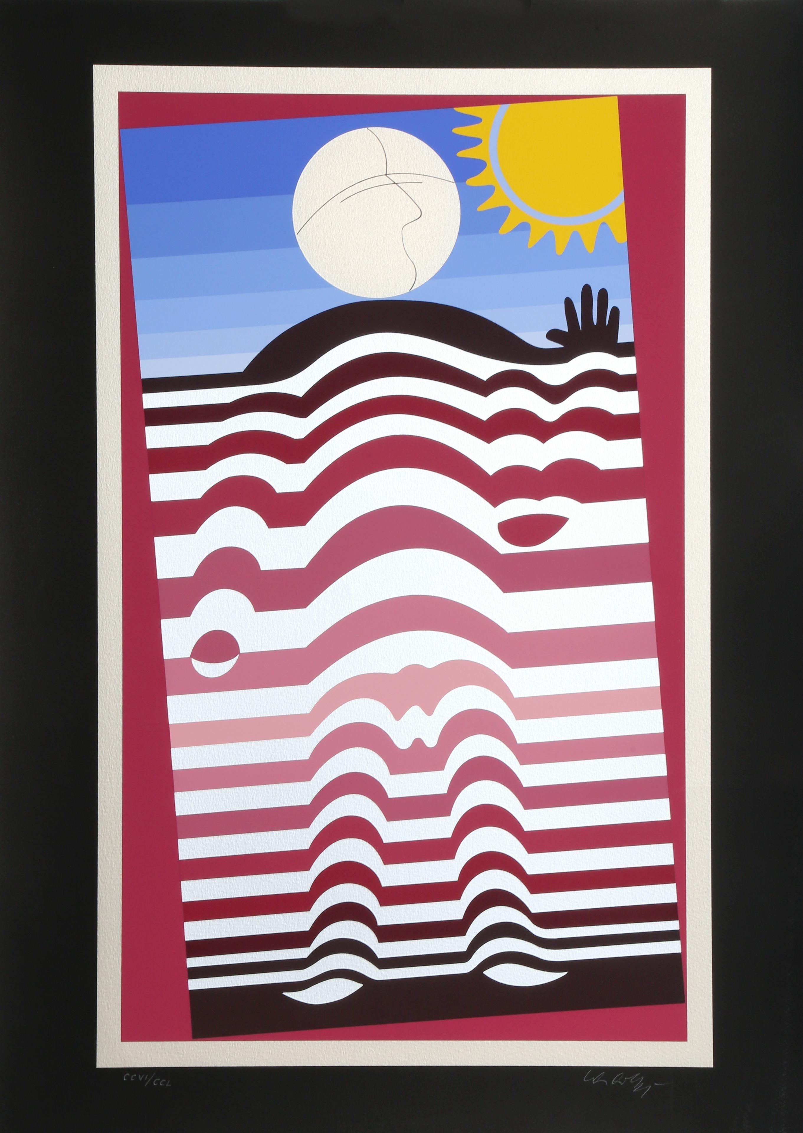 Sunbather by  Victor Vasarely - Masterpiece Online