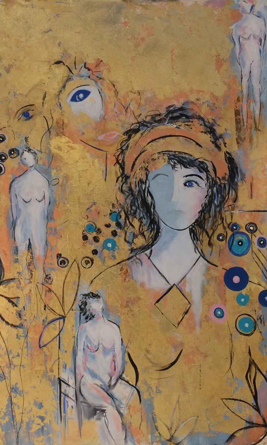 Klimt's Dreams by  Steve Lyons - Masterpiece Online