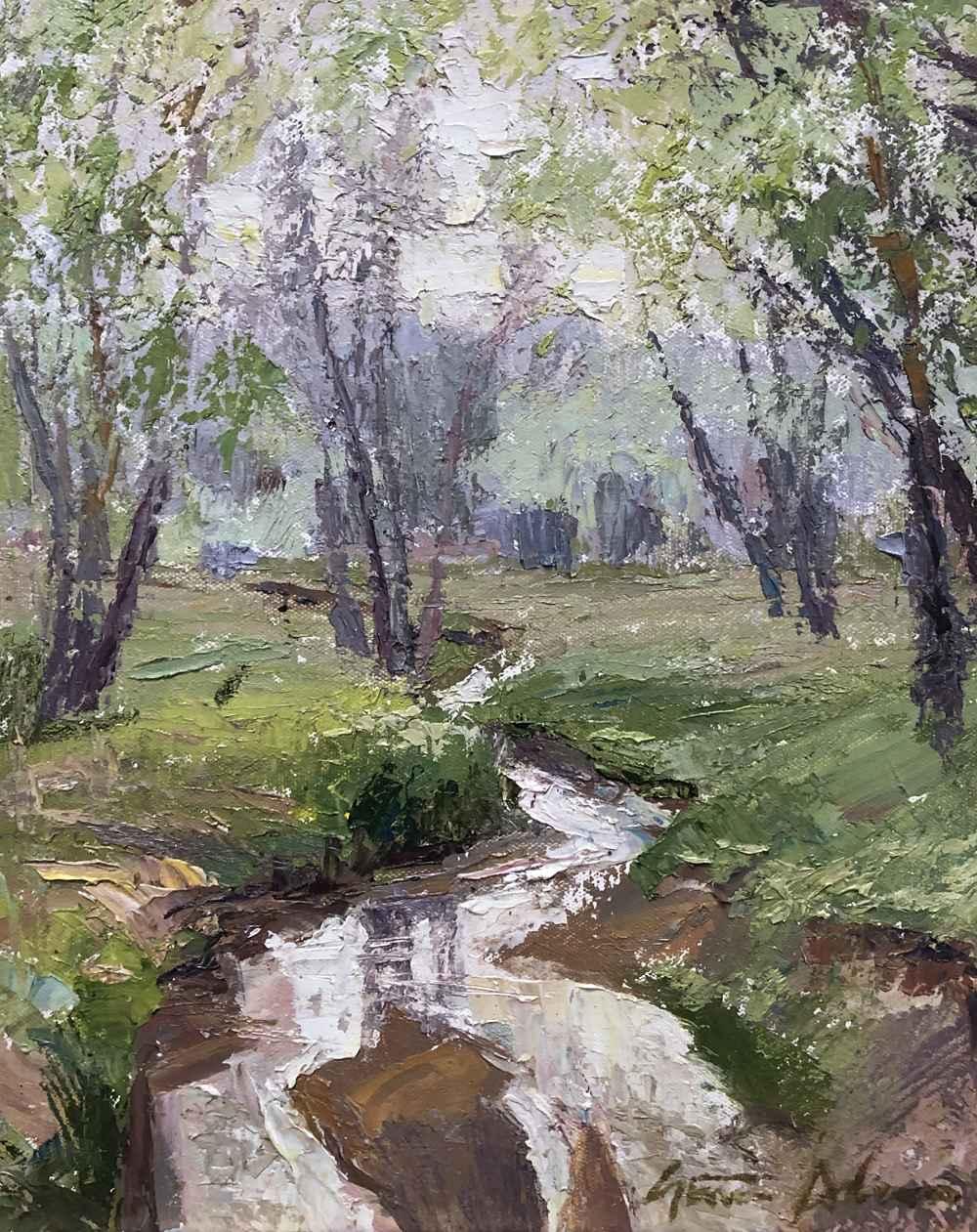 Spring Creek  by  Steven Lee Adams