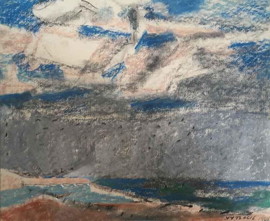 Storm Over Lucy Vince... by  Vaclav Vytlacil - Masterpiece Online