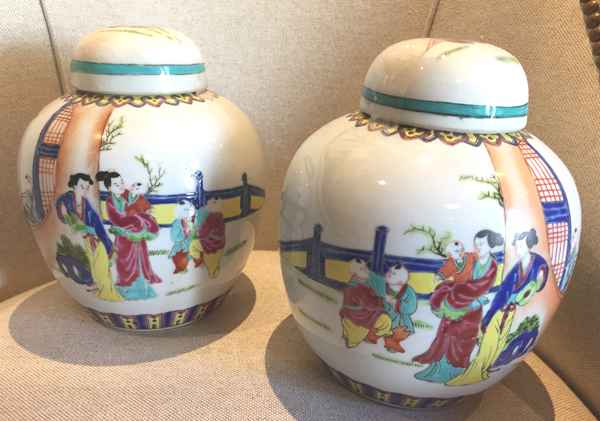 IOopposing Pair of Ha... by  Chinese  - Masterpiece Online