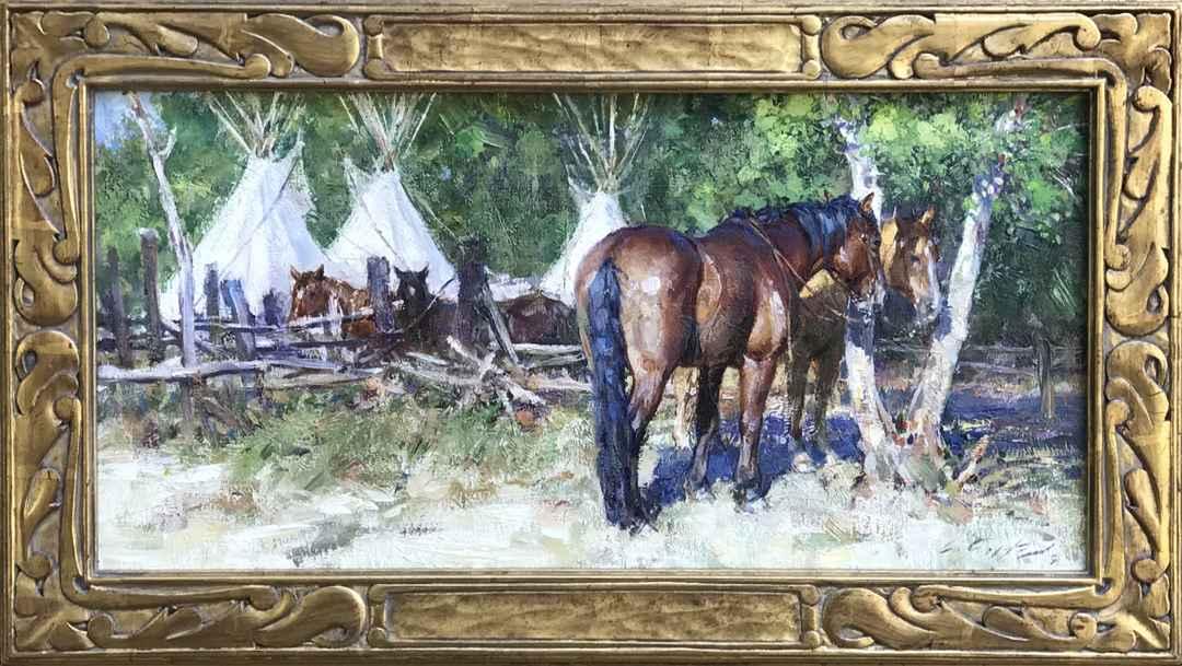 The Horse Culture At ... by Mr. Loren Entz - Masterpiece Online