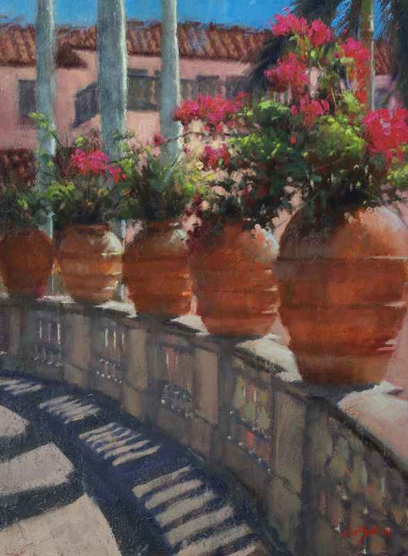 Courtyard Patterns by  Sue Foell - Masterpiece Online