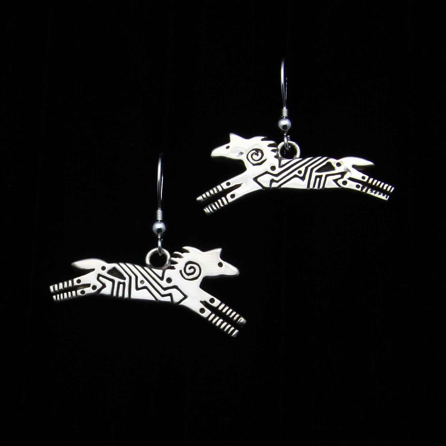 Silver Horse Earrings by  Ray Tracey - Masterpiece Online