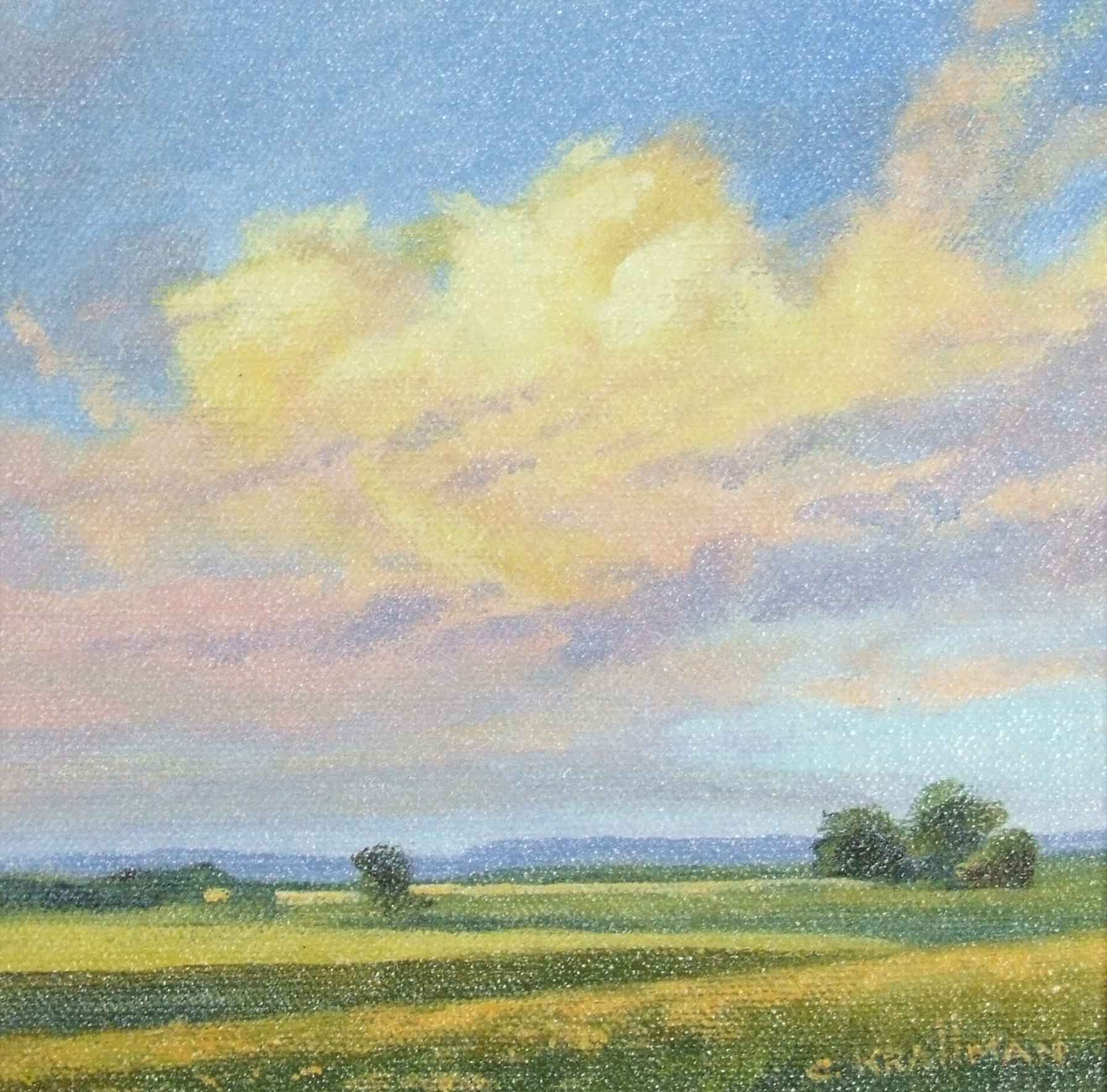 Dancing Yellow Clouds  by  Cally Krallman