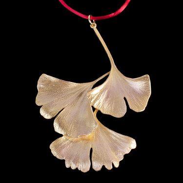 Gingko Leaf Ornament