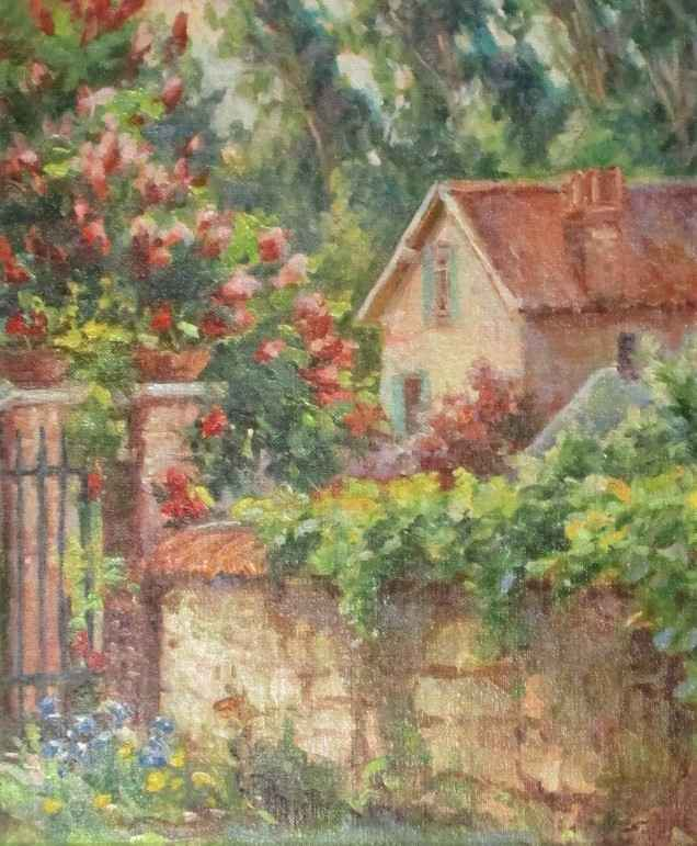 Untitled ( cottage be... by  Sharon Engel - Masterpiece Online