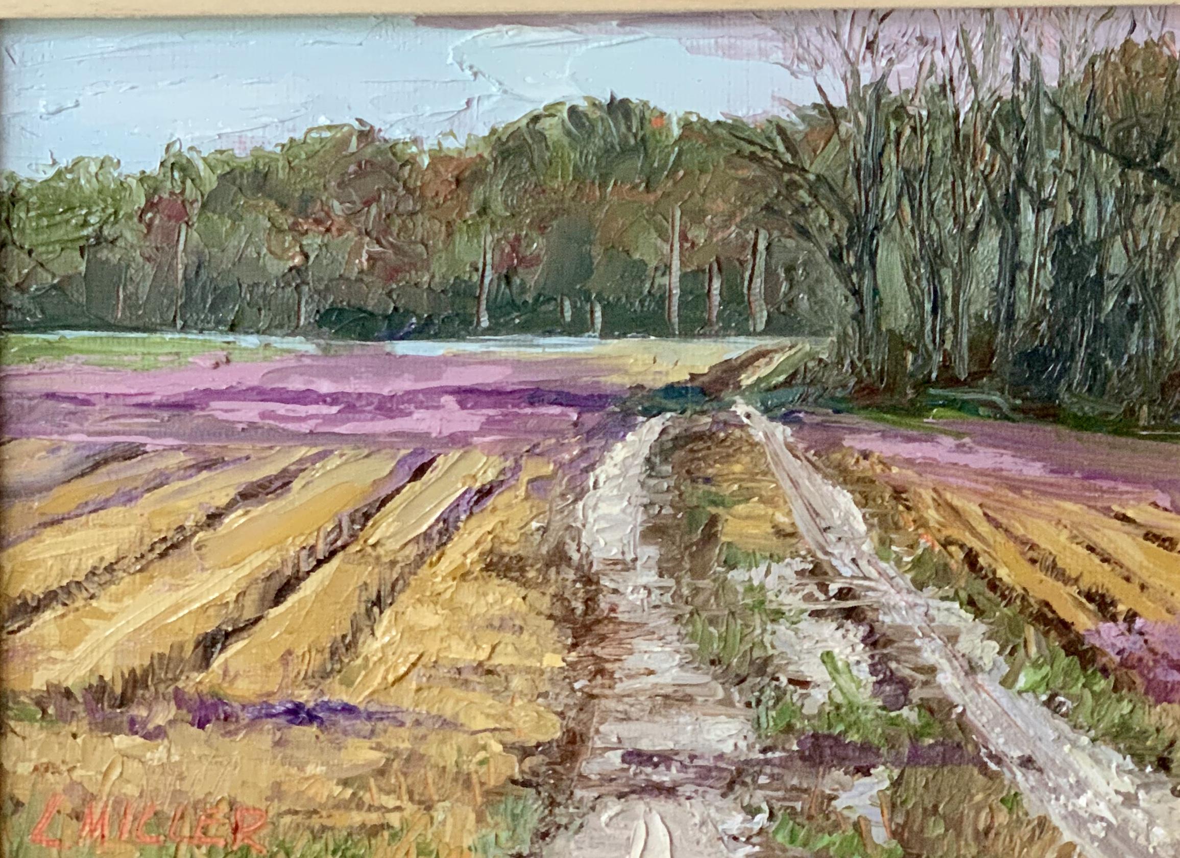 Fields of Clover by  Lisa Miller - Masterpiece Online
