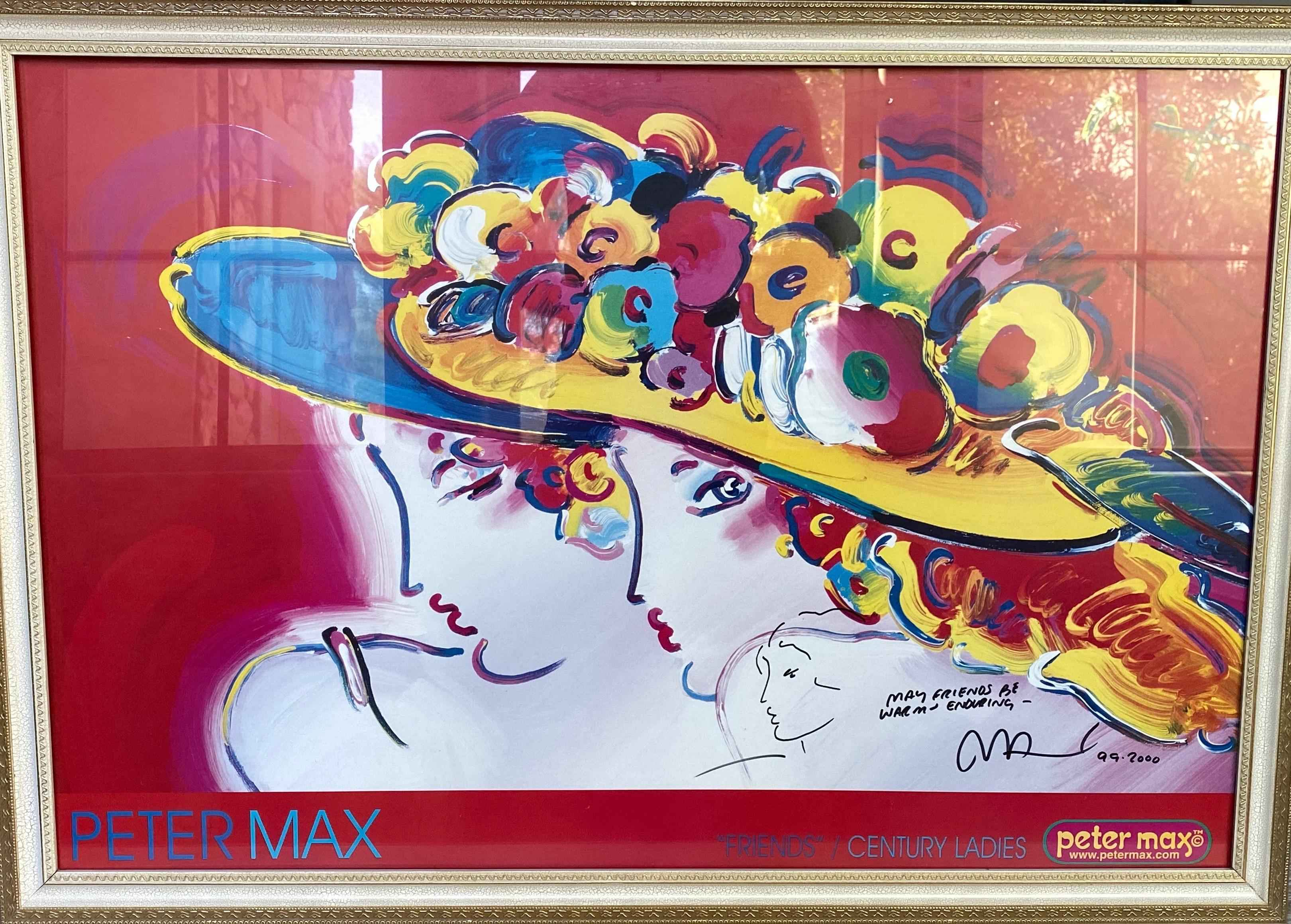 Friends by  Peter Max - Masterpiece Online