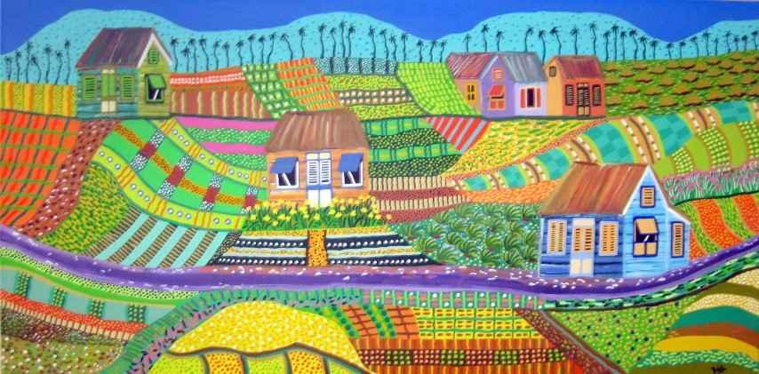 No Fences Make Good N... by Ms Janice Elizabeth Stewart - Masterpiece Online
