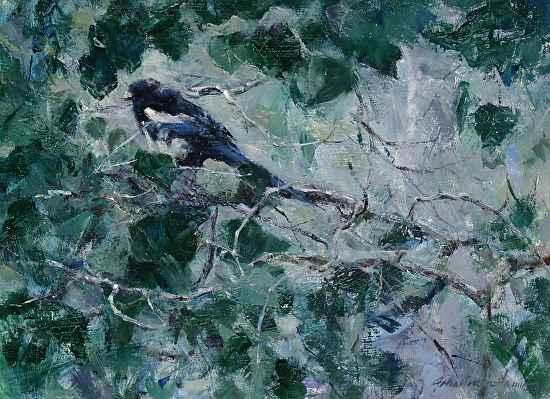 Magpie by  John Austin Hanna - Masterpiece Online