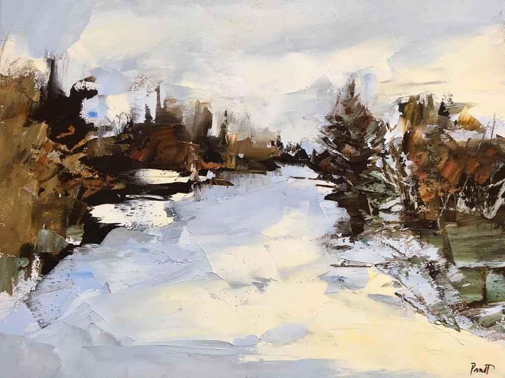 Deschutes River represented by  by  Sandra Pratt