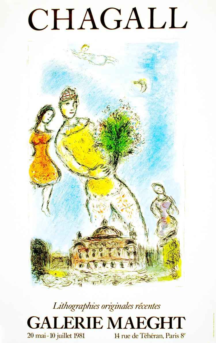 Sky of the Opera-Maeg... by  Marc Chagall - Masterpiece Online