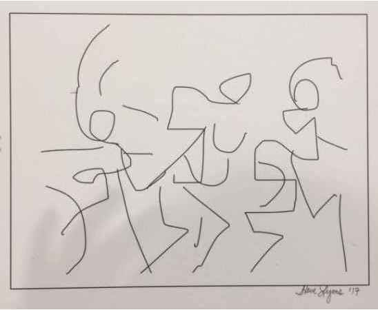 Women as Hieroglyphic... by  Steve Lyons - Masterpiece Online