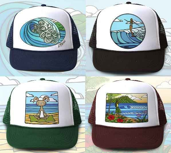 HBTH Trucker Hat by  Heather Brown - Masterpiece Online
