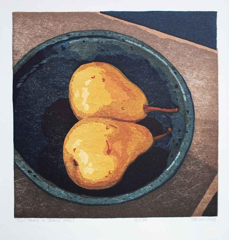 Two Pears in John's B... by  Micah Schwaberow - Masterpiece Online
