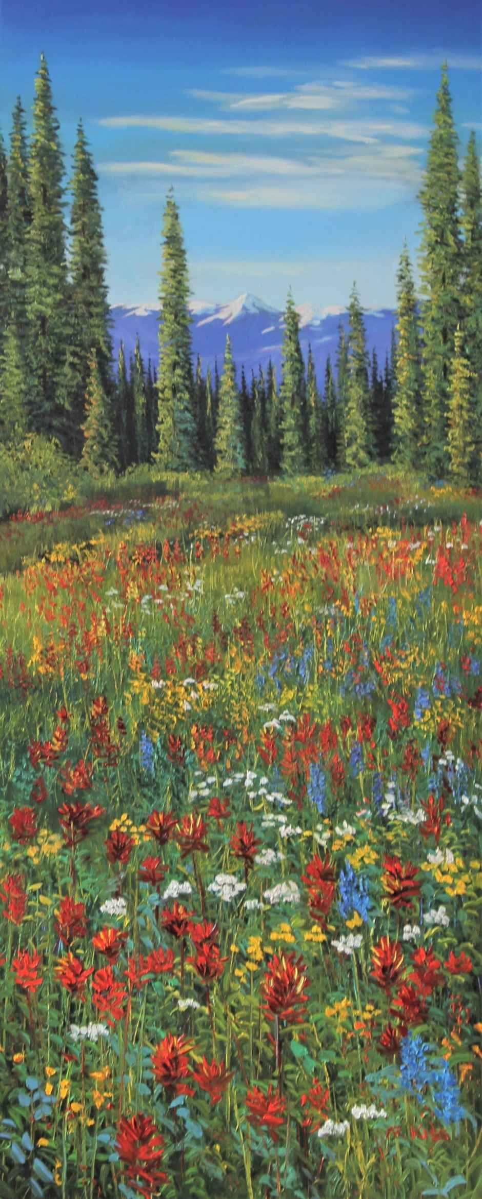 Alpine Summer by  Andrew Kiss - Masterpiece Online