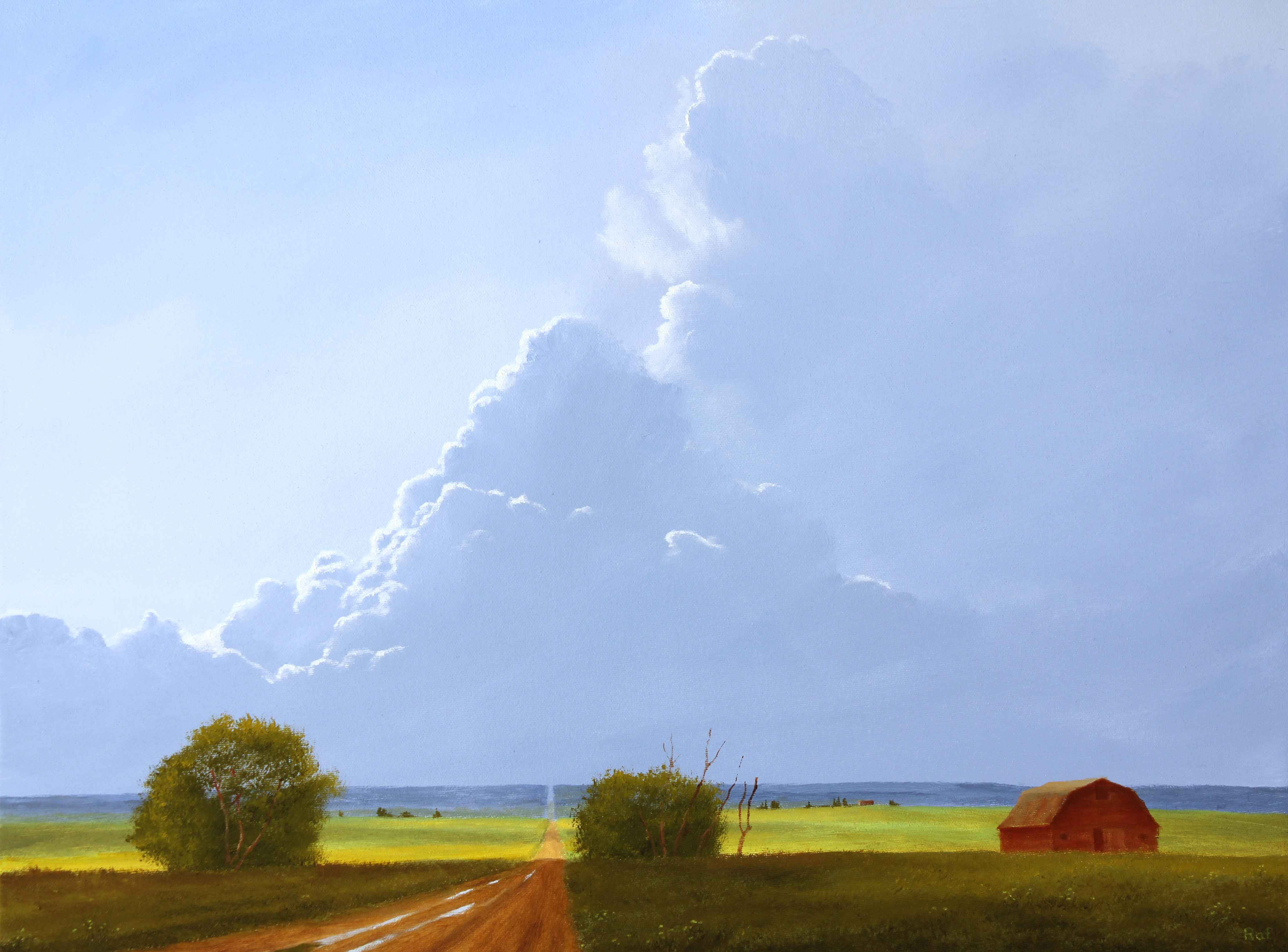 Thunder Near Carbon  by  Ted Raftery - Masterpiece Online