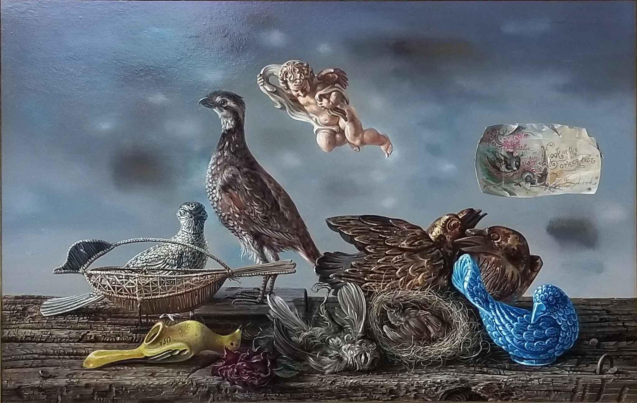 Untitled (Bird Still-... by Mr. Aaron Bohrod - Masterpiece Online