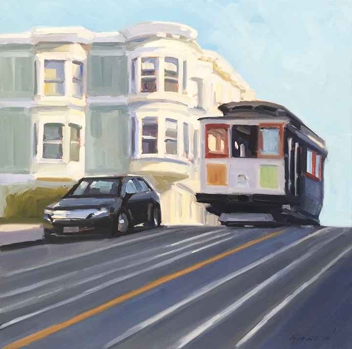 Hyde Street Cable Car  by  Michael Chamberlain