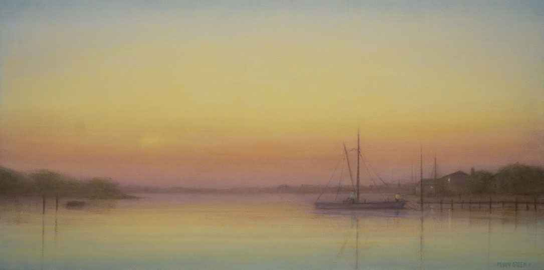 Arriving in Edgartown by  Mary Sipp Green - Masterpiece Online