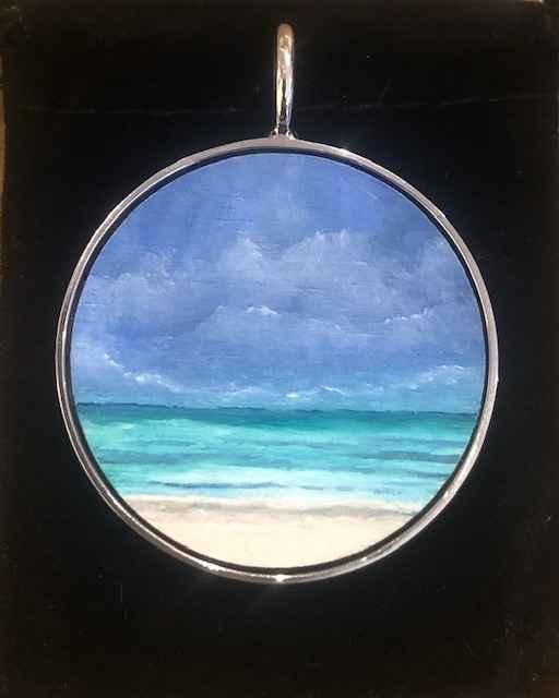 #296 Lg O Seascape by  Nell Mercier - Masterpiece Online