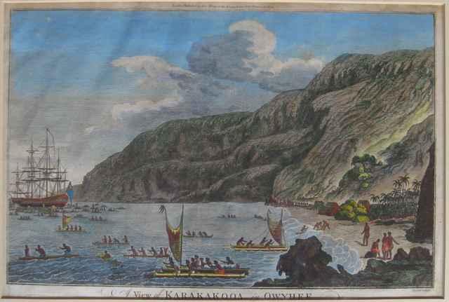 A View of Karakakooa ... by  John Webber (1752-1793) - Masterpiece Online