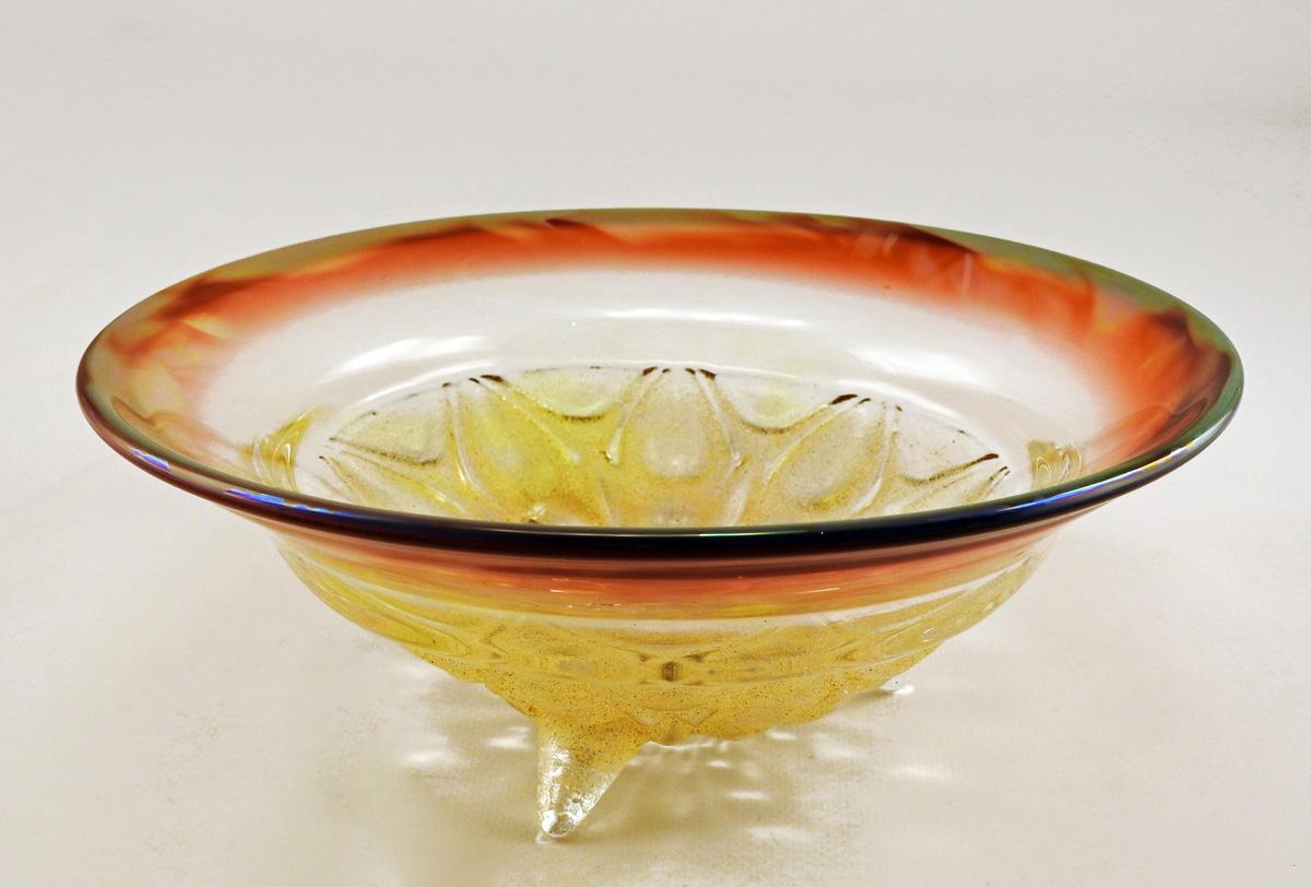 Bowl/Large Redluster by  Neal Drobnis - Masterpiece Online
