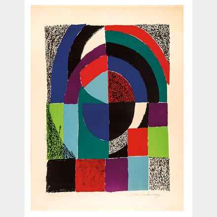 Cathedrale by  Sonia Delaunay - Masterpiece Online