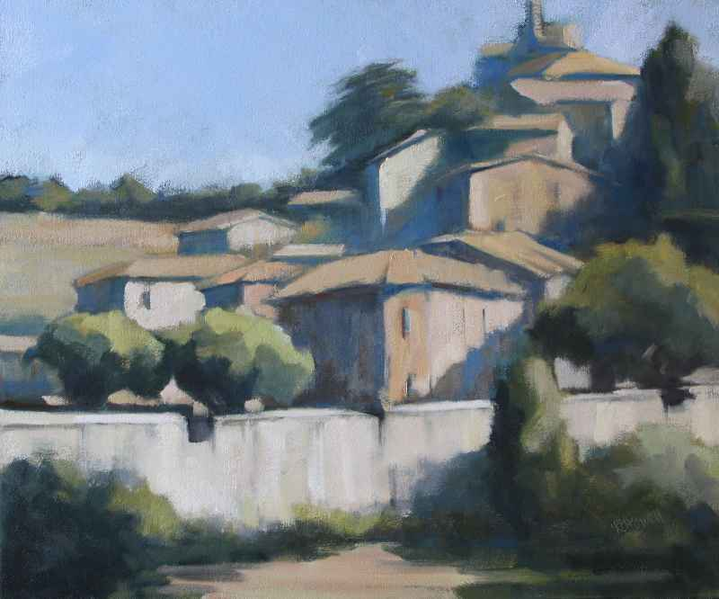 Walled Village by  Lesley Powell - Masterpiece Online