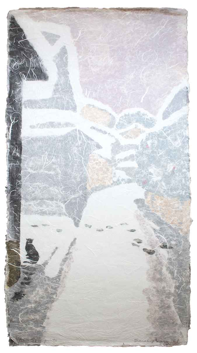 Snow Prints by  Sarah Brayer - Masterpiece Online