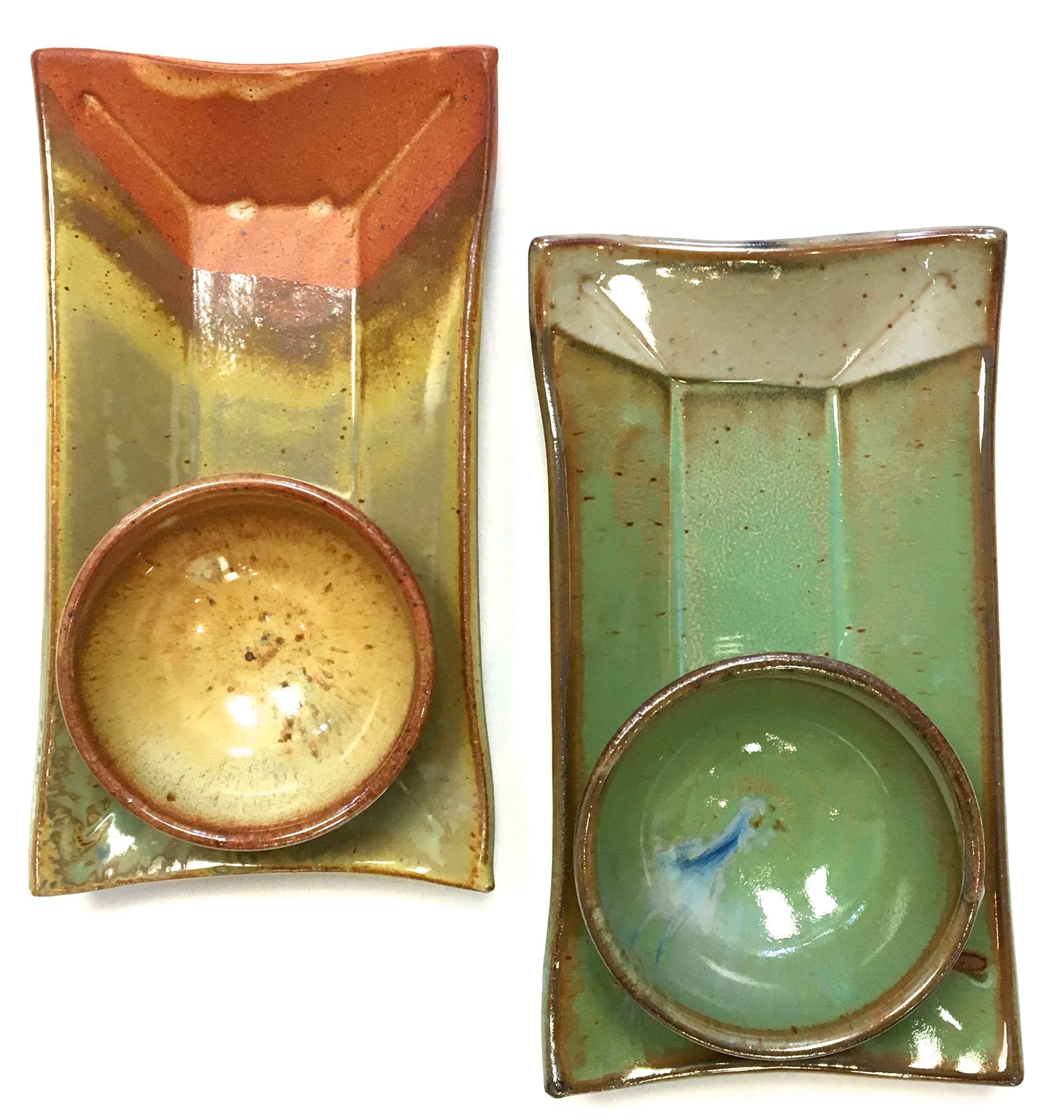 Serving Tray & Bowl by  Stephen Corner - Masterpiece Online