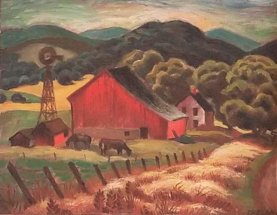Untitled (Barn Landsc... by  Lois Ireland - Masterpiece Online
