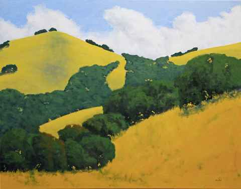 Rolling Oaks by  Donald  Craghead - Masterpiece Online