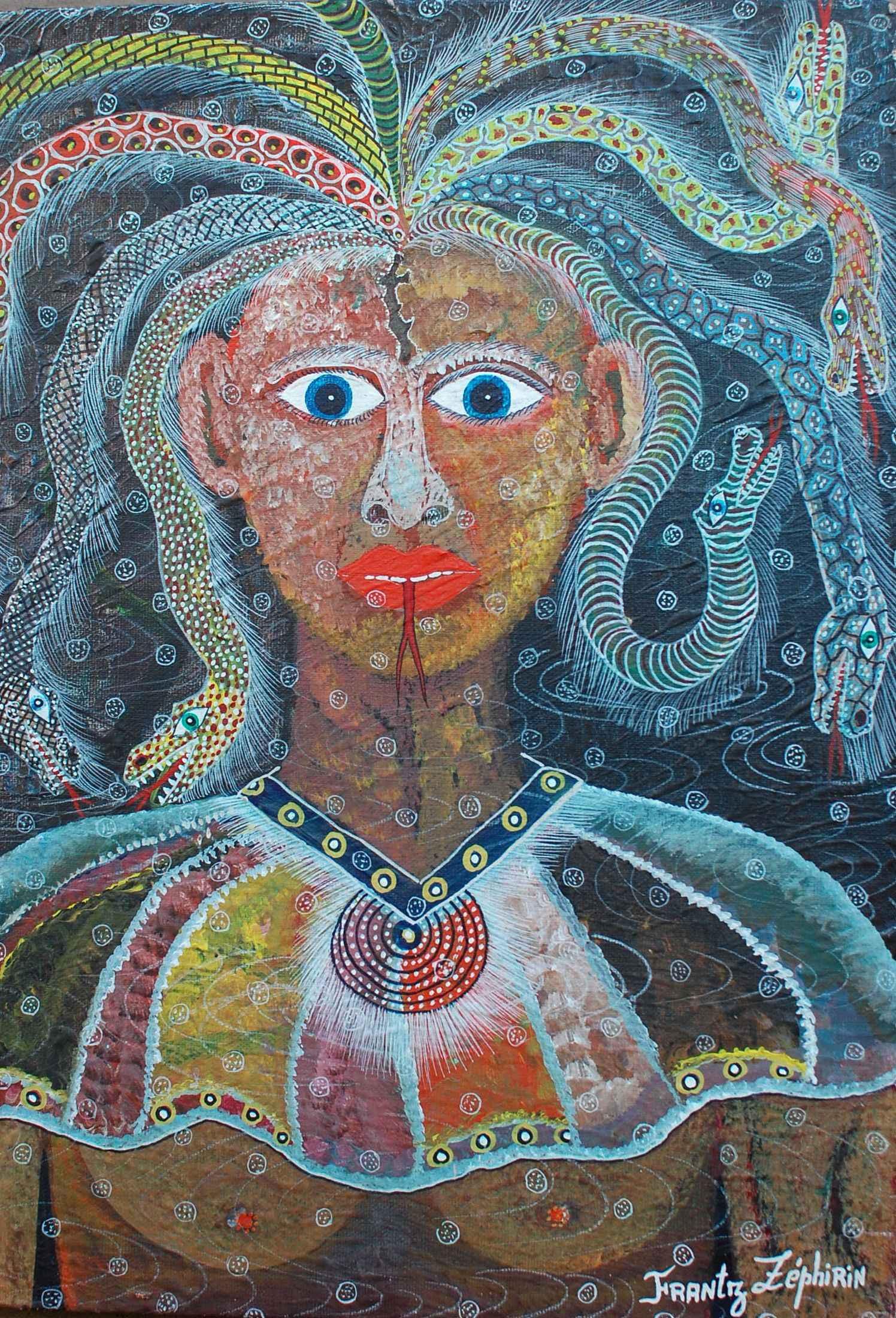 Snake Charmer by  Frantz ZEPHIRIN - Masterpiece Online