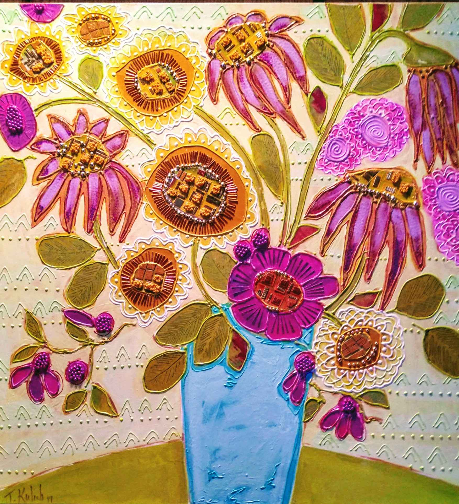 Blue Vase by  Thomas Kulich - Masterpiece Online