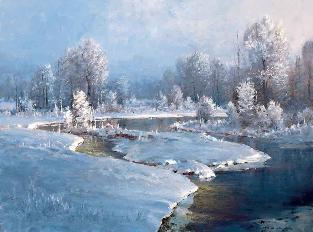 Morning Frost by  Jim Wilcox - Masterpiece Online