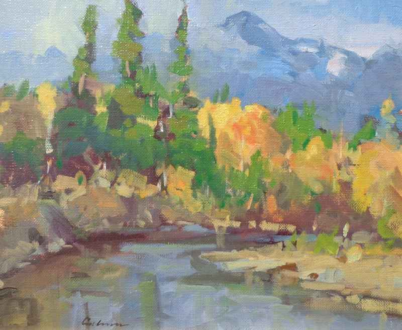 On the Kispiox in Fall by Mr. Gene Costanza - Masterpiece Online