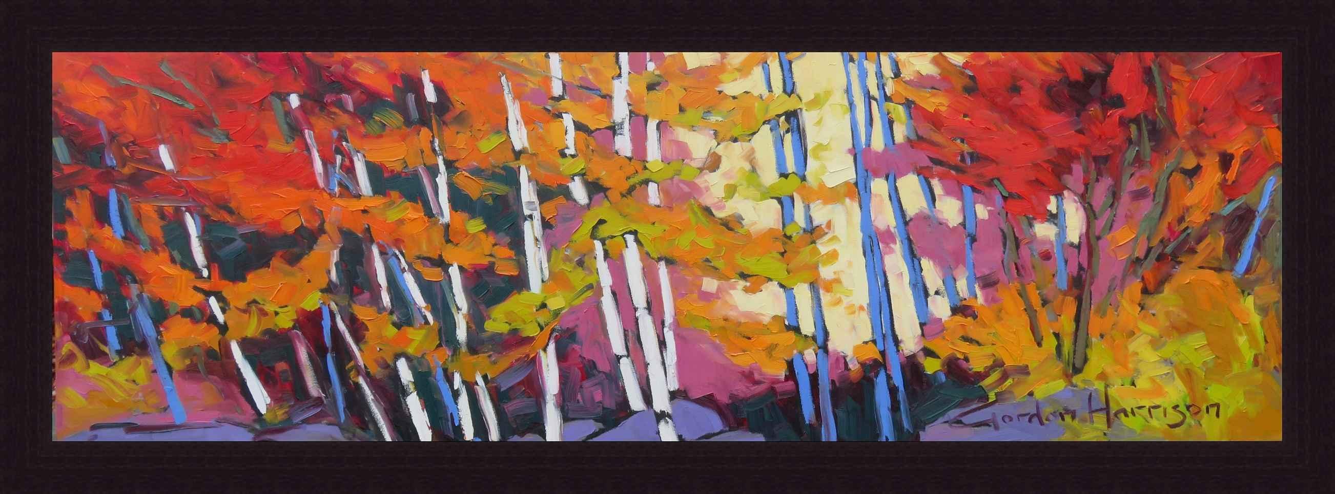 Autumn Expressions, L... by  Gordon Harrison - Masterpiece Online