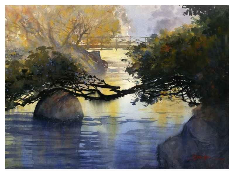 Huntington Gardens II by Mr. Thomas Schaller - Masterpiece Online