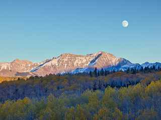 Moon Over Aspen Trees by  Steven Friedman - Masterpiece Online
