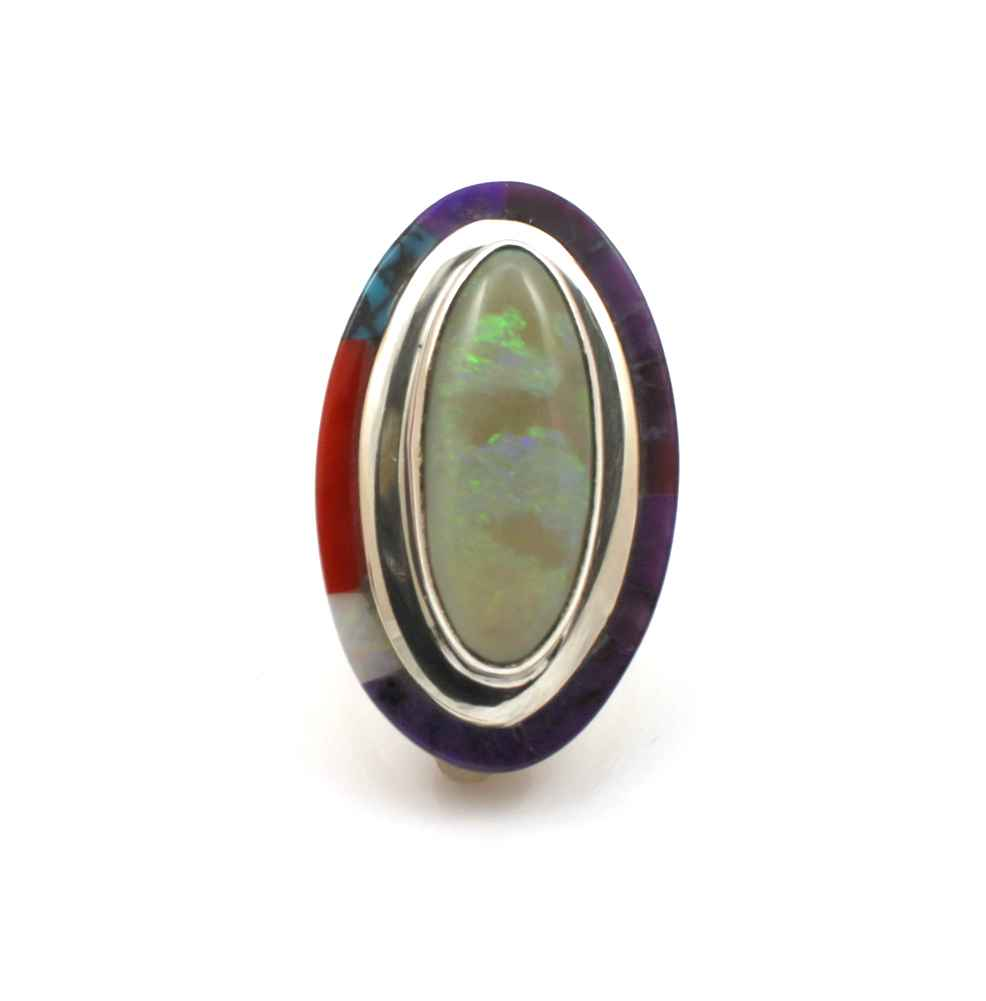Opal with Inlay Edge ... by  Victor Gabriel - Masterpiece Online