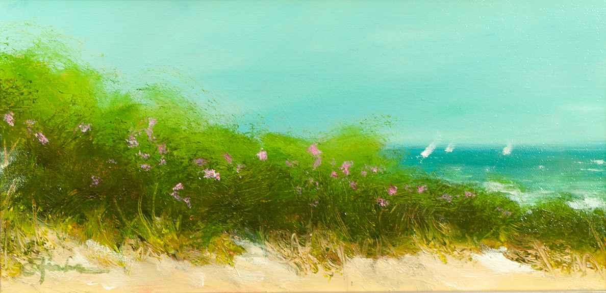 Beach Rose Fence
